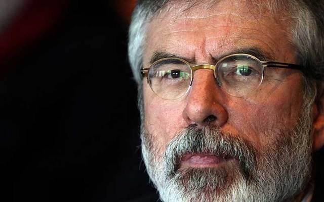 Sinn Féin TD Gerry Adams.