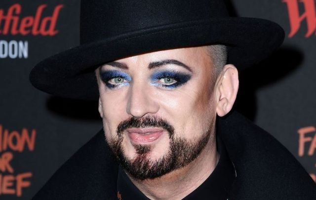 Boy George, pictured here in London in 2019.