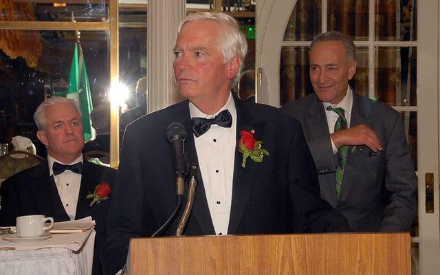 Irish American community leader, Brian O'Dwyer.