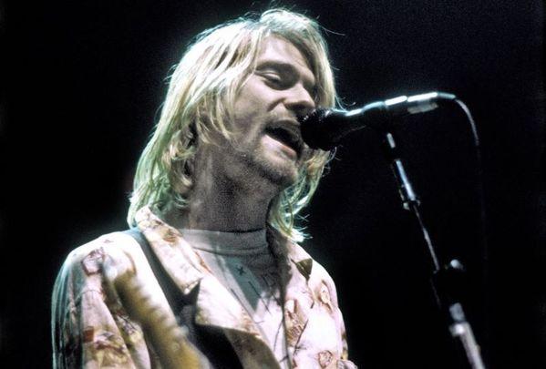 Nirvana frontman Kurt Cobain.