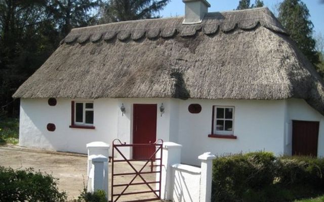 irish traditional thatched cottage in forest for sale irishcentral com rh irishcentral com country cottage for sale in ireland cottage for sale in ireland