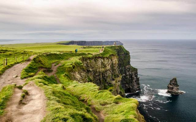 With views like this as a setting for your intrigue, is it any wonder that Ireland is an ideal setting for mystery writers?