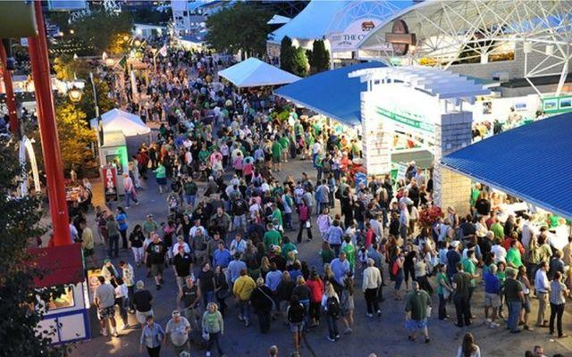 Crowds at the Milwaukee Irish Fest