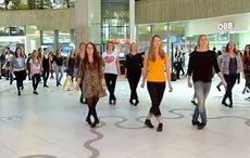 WATCH: Irish dance flash mob takes over a mall in Vienna