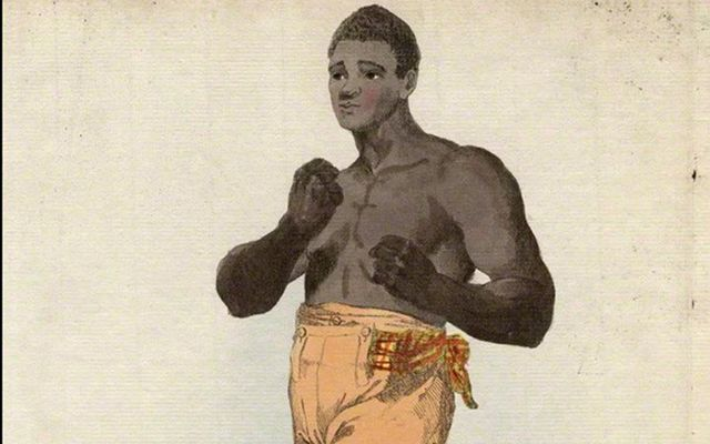 An illustration of the fighter Tom Molineaux