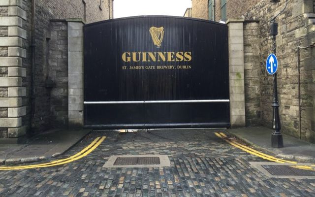 The Guinness Storehouse at St. James Gate in Dublin