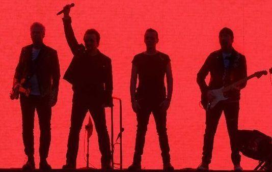 U2 named highest earners for 2017