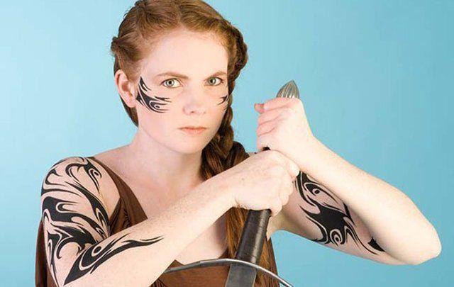 Celtic woman.