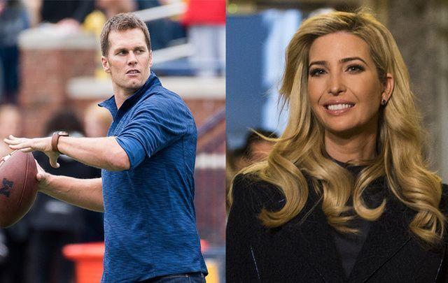Tom Brady and Ivanka Trump