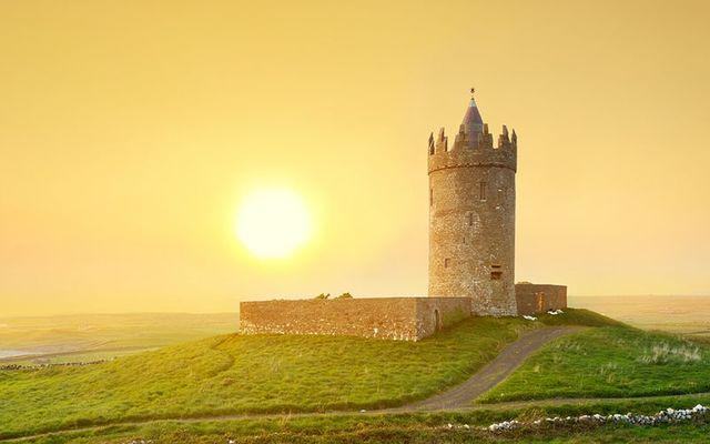 Sun over Ireland