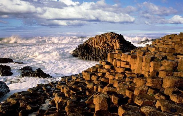 Giant\'s Causeway is one of Ireland\'s most popular tourist spots