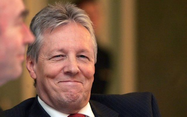 The former leader of the DUP Peter Robinson.