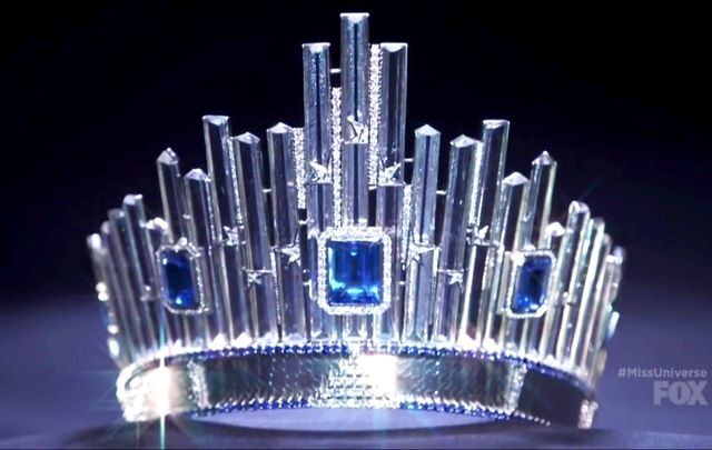 The coveted Miss Universe crown.