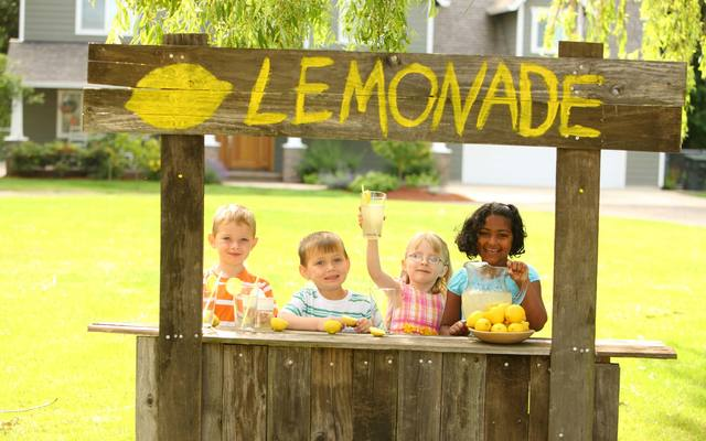 Inspector shuts down a back porch lemonade stand.