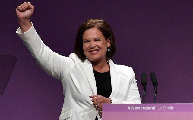 Sinn Fein Mary Lou McDonald.