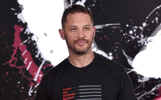 Tom Hardy attends a photo call for Columbia Pictures\' \'Venom\' at the Four Seasons Hotel Los Angeles at Beverly Hills on September 27, 2018, in Los Angeles, California.