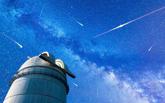 Perseid Meteor Shower in 2017.