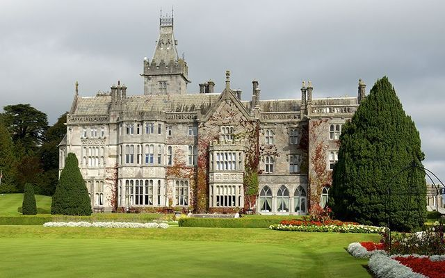 Adare Manor has been named the best hotel in the world for 2018