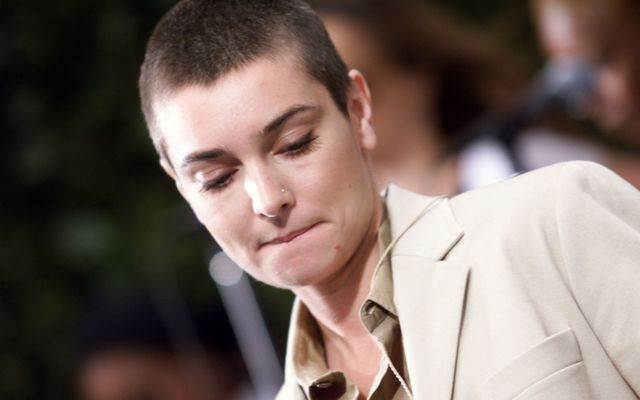 Sinead O'Connor performs in NYC on 6/12/2000.