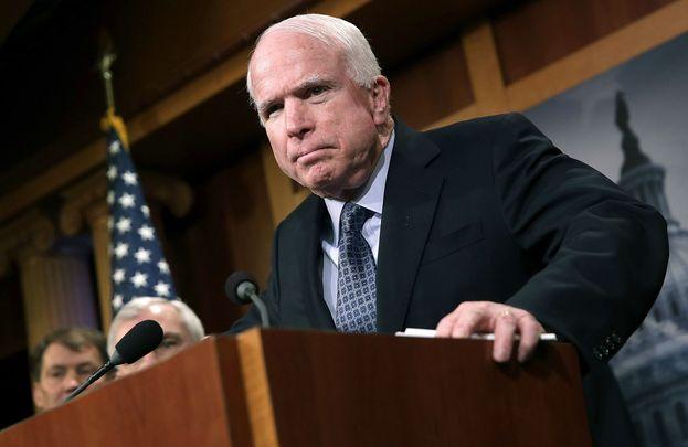 Senator John McCain.