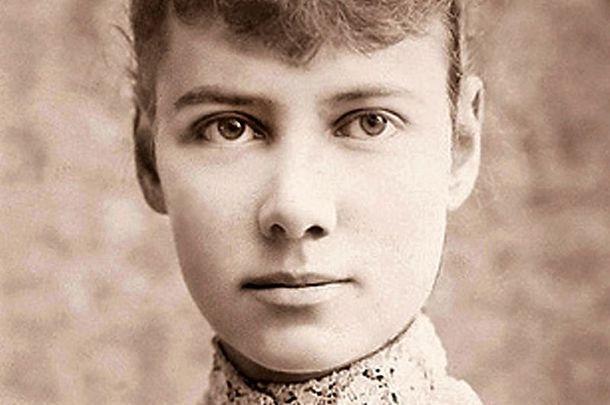 Nellie Bly, circa 1890.