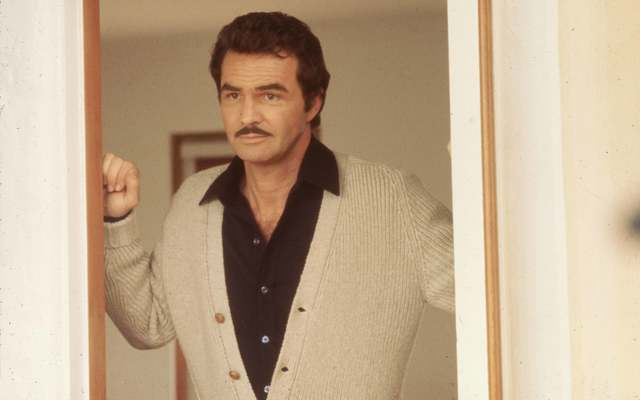 American actor Burt Reynolds.