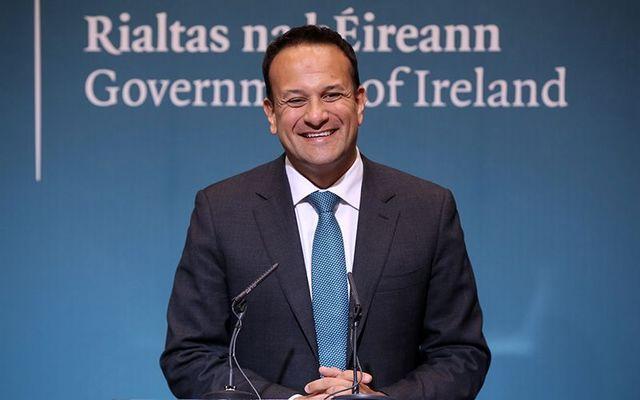 Irish Taoiseach (Prime Minister) Leo Varadkar.