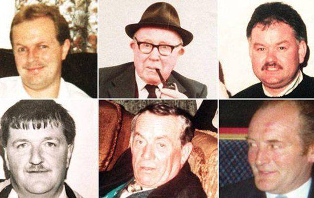Victims of the Loughinisland Massacre.