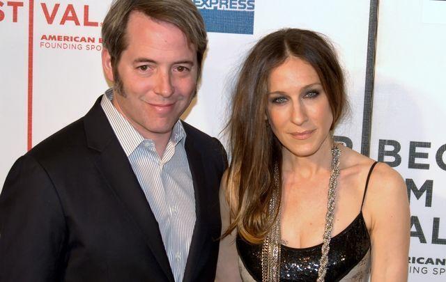 Matthew Broderick and Sarah Jessica Parker.