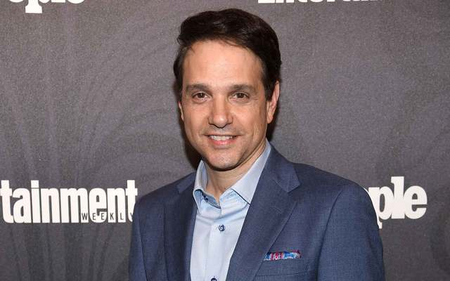 Ralph Macchio of Cobra Kai attends Entertainment Weekly & PEOPLE New York Upfronts celebration at The Bowery Hotel on May 14, 2018, in New York City.