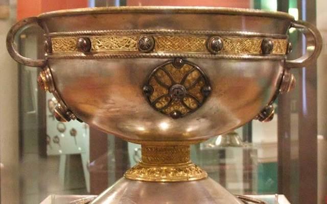 The Ardagh Chalice.