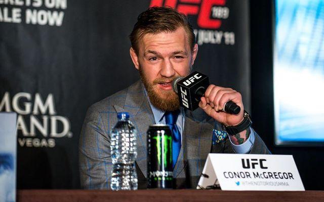MMA champion, from Dublin, Conor McGregor.