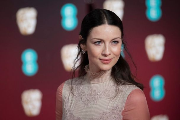 Caitriona Balfe attends the 70th EE British Academy Film Awards (BAFTA) at Royal Albert Hall on February 12, 2017, in London, England.