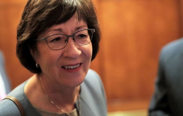 Senator Susan Collins.