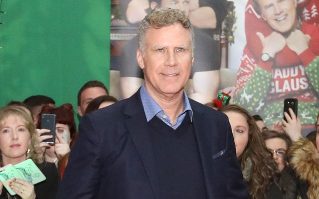 "Will Ferrel in Dublin for the 2017 premiere of ""Daddy\'s Home.\"""