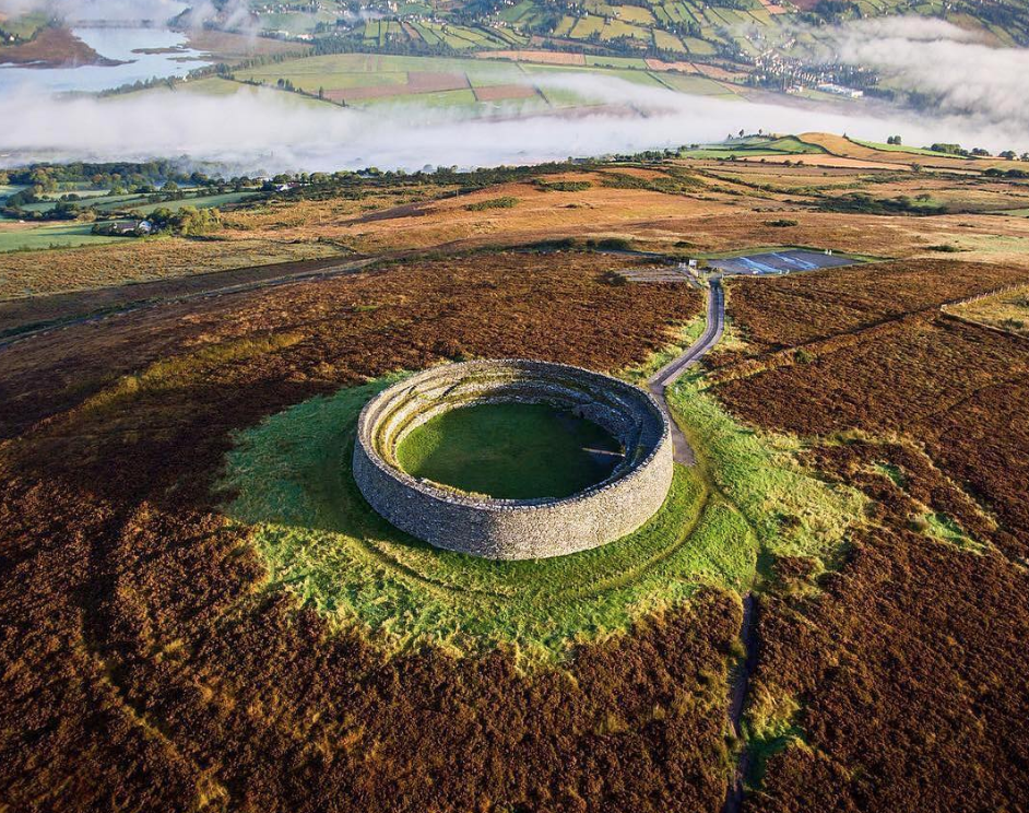 Ancient Irish fort featured on 140AD Ptolemy map of Ireland