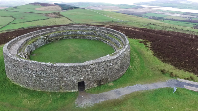 The Grianan of Aileach, the impressive \'Sun Temple\' of Donegal.