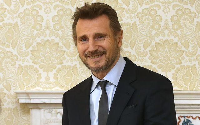 Northern Irish Hollywood royalty, Liam Neeson.