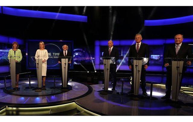 RTE Presidential Debate.