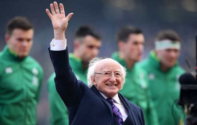 Michael D. Higgins appears to be re-elected according to exit polls