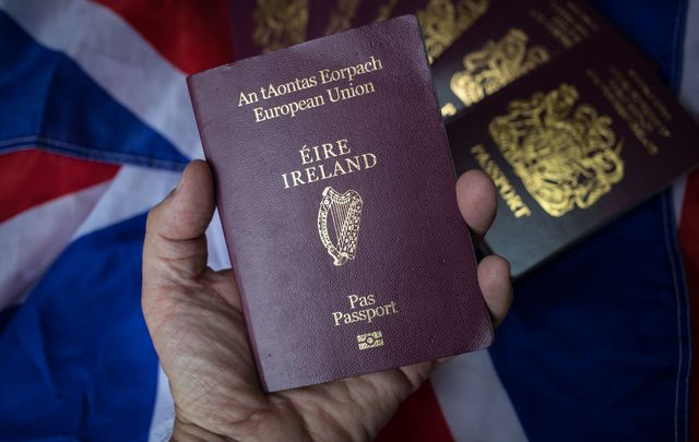 British applications for Irish passports have surged since Brexit