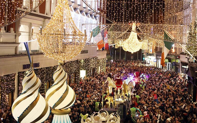 Christmas In Dublin Ireland.Dublin One Of The Places In The World To Spend Christmas