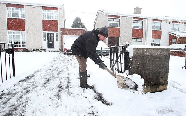 Heavy snows are expected for Ireland again this winter.