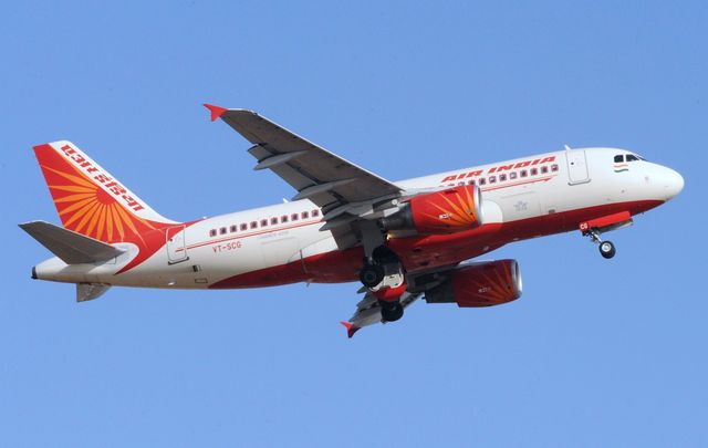 A drunk Irish woman was arrested following her shameful behavior on an Air India flight