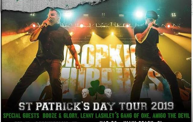 Dropkick Murphys have announced their St. Patrick\'s Day 2019 tour dates