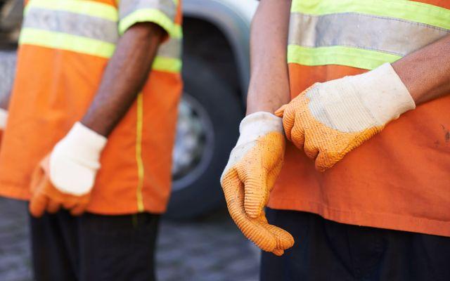 Sanitation worker.