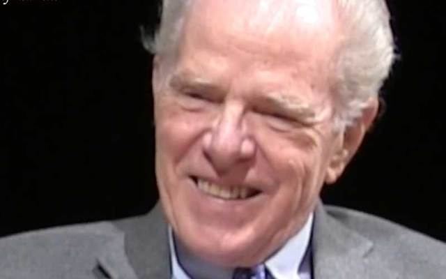 Irish American author William Kennedy