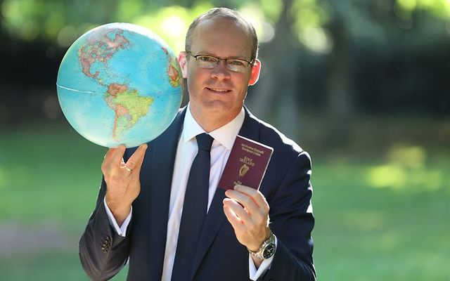 Irish deputy leader Simon Coveney: Irish Passport Offices have announced big changes.