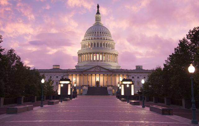 United States Capitol Building, Washington DC.