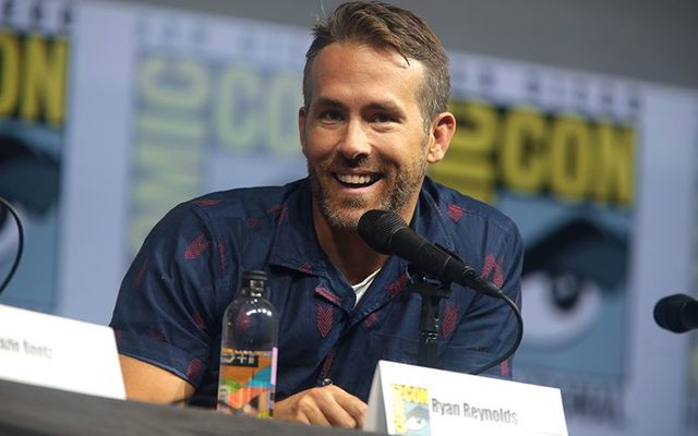Irish-Canadian actor Ryan Reynolds.